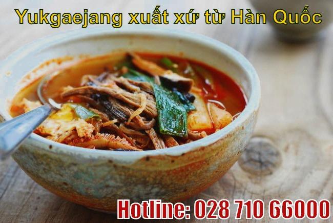 Đừng bỏ lỡ món món Yukgaejang khi đến Hàn Quốc