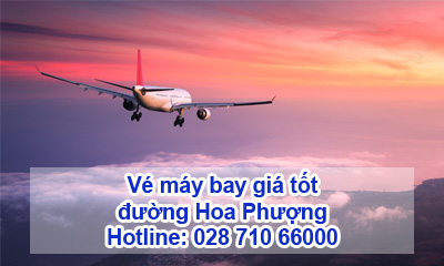 Vé máy bay đường Hoa Phượng
