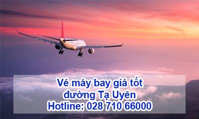 Vé máy bay đường Tạ Uyên