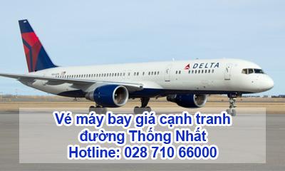 Vé máy bay đường Thống Nhất