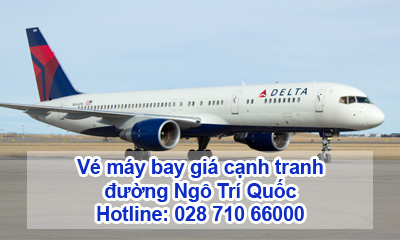 Vé máy bay đường Ngô Trí Quốc
