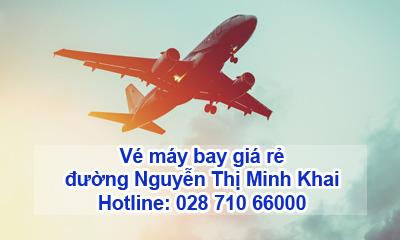 Đại lý vé má bay đường Nguyễn Thị Minh Khai