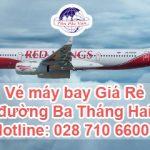Đặt vé máy bay giá rẻ đường Ba Tháng Hai