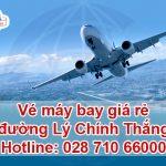 Mua vé máy bay trên đường Lý Chính Thắng