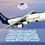 Phòng vé máy bay trên đường Phan Văn Trị
