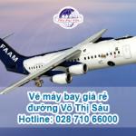 Đại lý vé máy bay giá rẻ trên đường Võ Thị Sáu