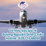 Phòng vé máy bay giá rẻ đường Nguyễn Đình Chiểu